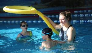 Игровой квест в бассейне