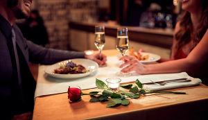 Праздничный ужин в честь 8 марта
